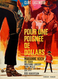 "Movie Posters:Western, A Fistful of Dollars (PEA, 1966). French Affiche (22.5"" X 30"").. ..."