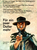 """Movie Posters:Western, For a Few Dollars More (Constantin Film, 1965). German A1 (23.25"""" X31.5"""") Advance. Western.. ..."""
