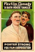 "Movie Posters:Comedy, A Bath House Tangle (Fox, 1917). One Sheet (27.5"" X 41"").. ..."