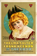 "Movie Posters:Drama, The Crab (Triangle, 1917). One Sheet (28"" X 42"").. ..."