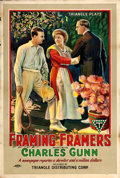 """Movie Posters:Comedy, Framing Framers (Triangle, 1918). One Sheet (27.5"""" X 41"""").. ..."""