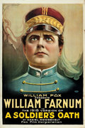 "Movie Posters:Drama, A Soldier's Oath (Fox, R-1918). One Sheet (27.5"" X 41"").. ..."