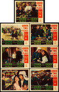 """Movie Posters:Adventure, Under Two Flags (20th Century Fox, 1936). Title Lobby Card &Lobby Cards (6) (11"""" X 14"""").. ... (Total: 7 Items)"""