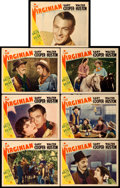 "Movie Posters:Western, The Virginian (Paramount, R-1935). Lobby Cards (7) (11"" X 14"").. ... (Total: 7 Items)"