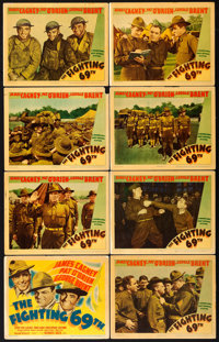 "The Fighting 69th (Warner Brothers, 1940). Linen Finish Lobby Card Set of 8 (11"" X 14""). ... (Total: 8 Items)"