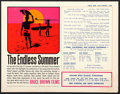 "Movie Posters:Sports, The Endless Summer (Bruce Brown Films, 1965). Promotional Handout(8.5"" X 11"").. ..."