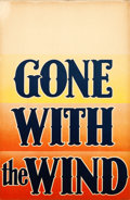 "Movie Posters:Academy Award Winners, Gone with the Wind (MGM, 1939). Window Card (14"" X 22"") Roadshow""Block"" Style.. ..."