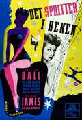 """Movie Posters:Musical, Best Foot Forward (MGM, 1947). Swedish One Sheet (27.25"""" X 39.5"""").. ..."""