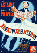 "Movie Posters:Musical, Broadway Melody of 1940 (MGM, 1940). Swedish One Sheet (27"" X39.5"").. ..."