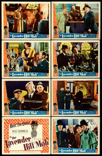 """The Lavender Hill Mob (Universal International, 1951). Lobby Card Set of 8 (11"""" X 14""""). Comedy. ... (Total: 8..."""