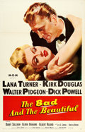 "Movie Posters:Drama, The Bad and the Beautiful (MGM, 1953). One Sheet (27"" X 41"").From the collection of William E. Rea.. ..."