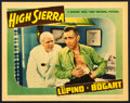 "Movie Posters:Film Noir, High Sierra (Warner Brothers, 1941). Linen Finish Lobby Card (11"" X14""). From the collection of William E. Rea.. ..."