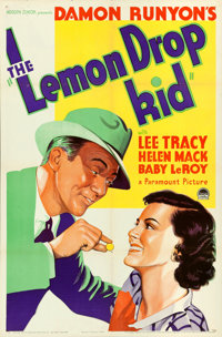 """The Lemon Drop Kid (Paramount, 1934). One Sheet (27"""" X 41""""). From the collection of William E. Rea"""