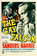"""Movie Posters:Mystery, The Gay Falcon (RKO, 1941). One Sheet (27"""" X 41""""). From the collection of William E. Rea.. ..."""