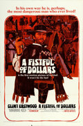 "Movie Posters:Western, A Fistful of Dollars (United Artists, 1967). One Sheet (27"" X41"").. ..."