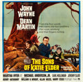 "Movie Posters:Western, The Sons of Katie Elder (Paramount, 1965). Six Sheet (80"" X 81"").. ..."