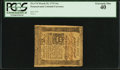 Colonial Notes:Pennsylvania, Pennsylvania March 25, 1775 16s PCGS Extremely Fine 40.. ...