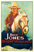 "Movie Posters:Western, Desert Vengeance (Columbia, 1931). One Sheet (27"" X 41"").. ..."