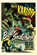 "Movie Posters:Horror, The Body Snatcher (RKO, 1945). One Sheet (27"" X 41"").. ..."