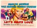 "Movie Posters:Comedy, Let's Make Love (20th Century Fox, 1960). British Quad (30"" X 40"").Tom Chantrell Artwork.. ..."
