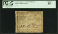 Colonial Notes:Virginia, Virginia March 1, 1781 $750 printed on thin laid paper PCGS Very Fine 35.. ...