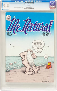 Mr. Natural #3 (Kitchen Sink Press, 1977) CGC NM 9.4 White pages