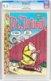 Mr. Natural #2 (San Francisco Comic Book Company, 1971) CGC NM- 9.2 Off-white to white pages
