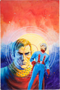 "Original Comic Art:Covers, Gray Morrow Perry Rhodan #80 ""The Columbus Affair"" PaperbackNovel Cover Painting Original Art (Ace Books, 1975)...."
