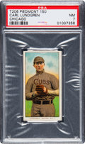 Baseball Cards:Singles (Pre-1930), 1909-11 T206 Piedmont - Series 150 Carl Lundgren (Chicago) PSA NM 7- Only One Higher....