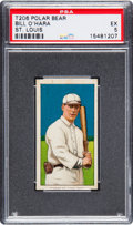Baseball Cards:Singles (Pre-1930), 1909-11 T206 Polar Bear Bill O'Hara (St. Louis) PSA EX 5 - Only TwoGraded Higher. ...