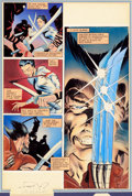 Original Comic Art:Panel Pages, Frank Miller and Joe Rubinstein Wolverine (Limited Series)#2 Story Page 6 Original Art (Marvel, 1982)....