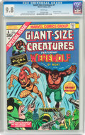 Bronze Age (1970-1979):Horror, Giant-Size Creatures #1 (Marvel, 1974) CGC NM/MT 9.8 Whitepages....