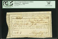 Colonial Notes:Connecticut, State of Connecticut Interest Certificate May 23, 1792 PCGS VeryFine 35, CC.. ...