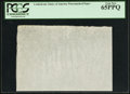 Fractional Currency:Shield, CSA Watermarked Paper - Single Block. PCGS Gem New 65PPQ.. ...