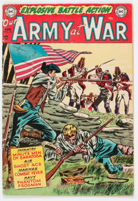 Our Army at War #13 (DC, 1953) Condition: GD/VG