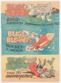 Golden Age (1938-1955):Miscellaneous, Bugs Bunny March of Comics/Quaker Cereals Giveaway Comics Group of 39 (K. K. Publications, Inc., 1940s-60s) Condition: Average... (Total: 39 Comic Books)