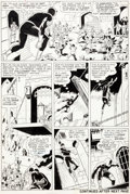 Original Comic Art:Panel Pages, Wally Wood and Bob Powell Daredevil #9 Page 8 Original Art(Marvel, 1965)....