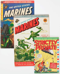 Comic Books - Assorted Golden Age War Comics Group of 8 (Various Publishers, 1940s) Condition: Average VG.... (Total: 8...