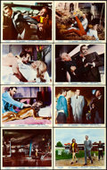"Movie Posters:James Bond, Goldfinger (United Artists, 1964). British Front of the House ColorPhoto Set of 8 (8"" X 10"").. ... (Total: 8 Items)"