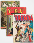 Golden Age (1938-1955):Miscellaneous, Comic Books - Assorted Golden Age Comics Group of 8 (Various Publishers, 1950s) Condition: Average VG.... (Total: 8 Comic Books)