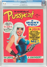 Pussycat #1 (Marvel, 1968) CGC NM+ 9.6 Off-white to white pages