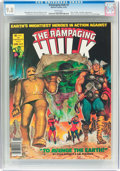 Magazines:Superhero, The Rampaging Hulk #9 (Marvel, 1978) CGC NM/MT 9.8 White pages....