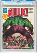 Magazines:Superhero, Hulk #13 (Marvel, 1979) CGC NM/MT 9.8 White pages....