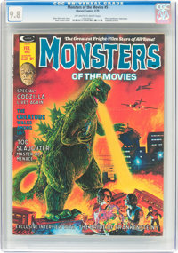 Monsters of the Movies #5 (Marvel, 1975) CGC NM/MT 9.8 Off-white to white pages