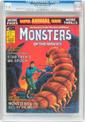 Magazines:Science-Fiction, Monsters of the Movies Annual #1 (Marvel, 1975) CGC NM+ 9.6Off-white to white pages....