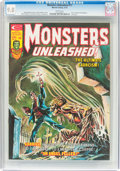 Magazines:Horror, Monsters Unleashed #11 (Marvel, 1975) CGC NM/MT 9.8 White pages....
