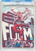 Magazines:Fanzine, Foom #13 (Marvel, 1976) CGC NM+ 9.6 White pages....