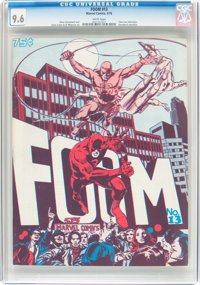 Foom #13 (Marvel, 1976) CGC NM+ 9.6 White pages
