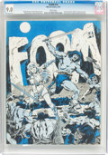 Magazines:Fanzine, Foom #14 (Marvel, 1976) CGC VF/NM 9.0 White pages....