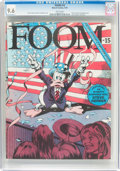 Magazines:Superhero, Foom #15 (Marvel, 1976) CGC NM+ 9.6 White pages....